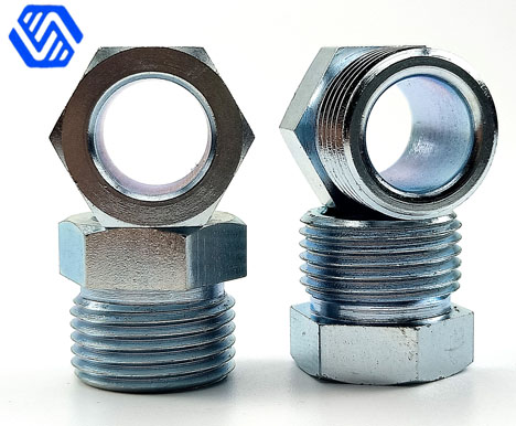 Tubing joint nozzle nipple