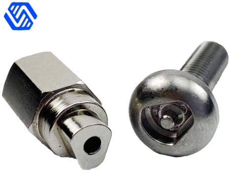 OEM design custom making safety Bolts with Banner