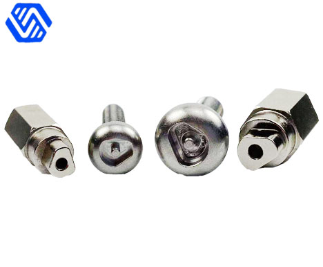 Stainless steel wheel carriage bolt screw